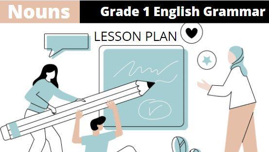 Noun-grade-1-english-grammar-lesson-plan